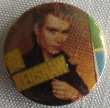 """NIK KERSHAW Vtg 1980`s  Button Pin Badge(25mm-1"""" diameter)  #NB.511"""