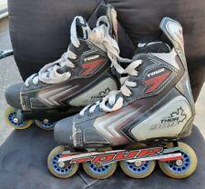 Tour Thor 909 CDN Roller Hockey In-Line Skates Blades Mens Size 8 (US) 41.5(EUR)
