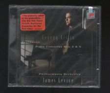 New Sealed CD: EVGENY KISSIN - Beethoven: Piano Concertos Nos. 2 & 5,Levine