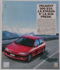 Advert Pubblicità 1994 PEUGEOT 306 S16