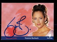 Yvonne Burbach Verbotene Liebe Autogrammkarte Original Signiert # BC 139798