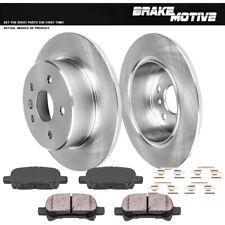 For Toyota Sienna V6 3.0L Meyle Semi Metallic Front Brake Kit Disc Rotors Pads