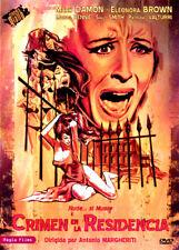 CRIMEN EN LA RESIDENCIA (DVD PRECINTADO)  GIALLO DE CULTO ANTONIO MARGHERITI