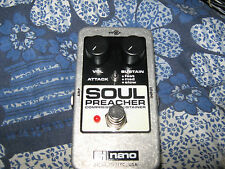 Soul Preacher COMPRESSOR/SUSTAINER effet guitare Pédale et Power Suply