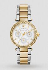 Michael Kors Watch * MK6055 Parker Mini 2 Tone Gold & Silver Steel COD PayPal