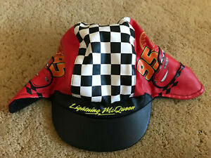 Disney Pixar Cars Embroidered Logo Lightning McQueen Toddler Hat New W/O Tags