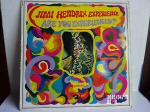 "Vinyle 33 tours "" Jimi Hendrix "" Are you experienced?""  Panache Barclays - 1967"