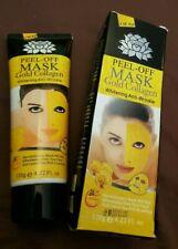 masque peel off au collagène et à l'or pur anti rides blanchissant 120 g neuf