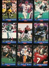 1992 CLASSIC DRAFT PICKS FOOTBALL COMPLETE SET 1-100