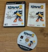 Klonoa 2 Lunatea's Veil Namco Sony Playstation 2 PS2 Game RARE - Free P&P