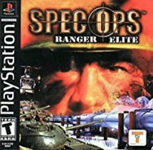 Spec Ops Ranger Elite - Authentic Sony PlayStation 1 Game