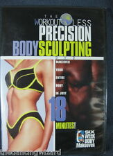 Slim-in-Six Workout Less Precision Body Sculpting DVD New Sealed Provida
