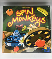 Spin Monkeys by Rio Grande Games Complete Fun Family Board Game Mark Sellmeyer