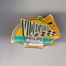RARE PINS PIN'S .. DISNEY PARIS VINTAGE OPENING 1992 PHILIPS VIDEOPOLES ART ~16
