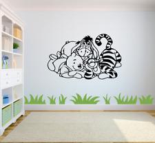 Winnie the Pooh Pegatinas Dibujos Animados Etiqueta de la Pared Arte chicos/chicas habitación Tigger CH5