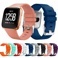 TPU Replacement Band Wrist Strap Buckle Bracelet Wristband for Fitbit Versa S-L