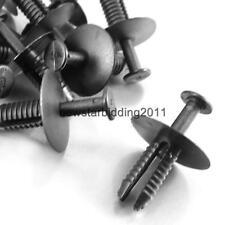 40x Push Rivet Fastener Wheel Arch Cover Clips For BMW E38 E39 E46 M3 X3 X5 Z4