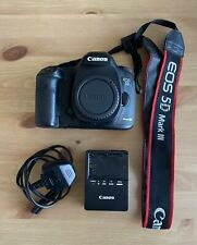 Canon EOS 5D Mark III DSLR Camera Body Only - Battery / Charger / Strap