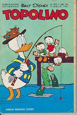 TOPOLINO N.293 LUGLIO 1961