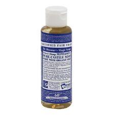 New Dr. Bronner's Organic Castile Liquid Soap Peppermint and Hemp 4 Oz CSPE04