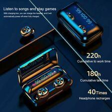 TWS Bluetooth 5.0 earbud wireless headset waterproof headphone Digital Mini 9D