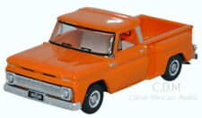 Oxford 1965 Chevrolet Orange Stepside Pickup Truck Die-Cast Metal 1/87 HO NEW