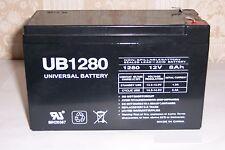 UB1280 12V 8Ah Tennis Tutor Junior Jr Prolite Oscillation Ball Machine battery