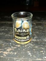 Pokemon #54 Psyduck Welch's Jelly Jar Glass 1999 Nintendo Collectible Cup