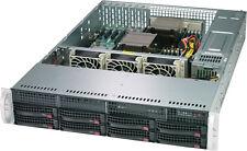 UXS Server Direct Attached Storage 2U 8 Bay FREENAS ZFS UnRAID 2x Six Core 48GB