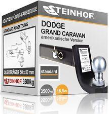 DODGE GRAND CARAVAN Anhängerkupplung ADAPTER für US-FAHRZEUGE 50x50mm STANDARD