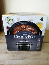 Crock-Pot The Original Slow Cooker 3.5L - Black BRAND NEW BOXED