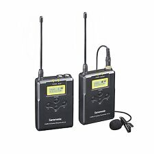 Saramonic UWMIC15 16-Channel Digital UHF Wireless Lavalier Microphone System