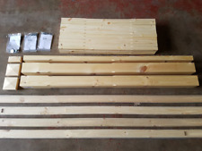 Pine Stop Chamfered 32mm Stair & Landing Balustrade Kit Spindles Newels Rails