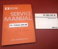Original ICOM IC-2A / AT / E 144MHz FM Transceiver Instruction & Service Manuals