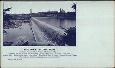 Holyoke MA Stone Dam c1900 Private Mailing Card