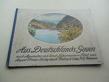 EUROPEAN ART WATERCOLOR - AUS DEUTSCHLANDS GAUEN NACH AQUARELLEN v Liebermann