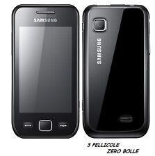 3 Pellicola per Samsung S5250 Wave525 Protettiva Pellicole SCHERMO DISPLAY LCD