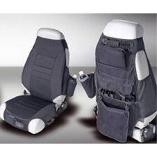 Front Seat Cover Vest Pair Fits: Jeep CJ YJ TJ 1976-2006 3235.01 Rugged Ridge
