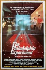 PHILADELPHIA EXPERIMENT ADVANCE Movie Poster 1984 FOLDED One Sheet 1SH sci fi