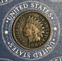 1905 INDIAN HEAD COPPER CENT COLLECTOR COIN FOR YOUR COLLECTION.