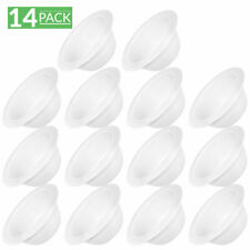 """Sunco Lighting 14 Pack Trim - 6"""" inch White Baffle Recessed Can Light"""