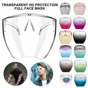Face Shield Sunglasses Bicycle Eyewear Safety Goggles Eye Mouth Oversize Cycling