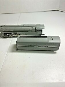 HO Scale Rivarossi 4-6-4 Steam Locomotive with New York Central Tender