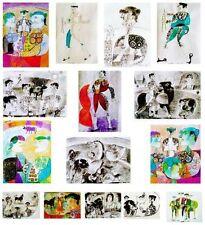 Figürliche Original-Lithographien (1950-1999) aus Italien