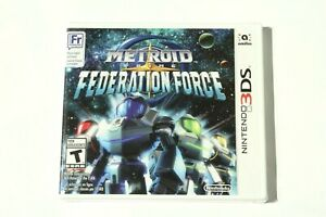 Metroid Prime - Federation Force (Nintendo 3DS) Brand New - Sealed