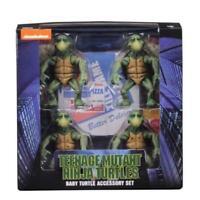 NECA Baby Teenage Mutant Ninja Turtles 1:4 Accessory Set TMNT Action Figur New