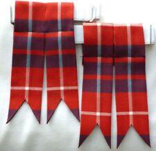 Cravate Tartan MacRae ancienne de chasse 100/% pure laine made in Scotland Menswear
