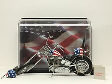 Franklin Mint Easy Rider Chopper Motorcycle 1/10 Diecast Scale