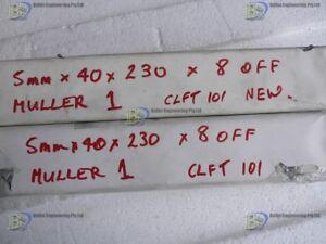 8 carbon Vanes 507110 Dim: 230-40-5 mm For Rietschle CLFT100, CLFT101, CLFT10DV