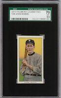 Rare 1909-11 T206 John Hummel Piedmont 350-460 Brooklyn SGC 70 / 5.5 EX +